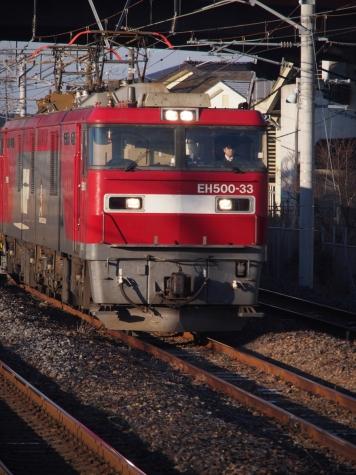 EH500-33 牽引の高速貨物B 2095レ