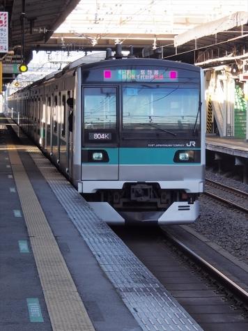 JR 常磐緩行線 E233系2000番台 電車