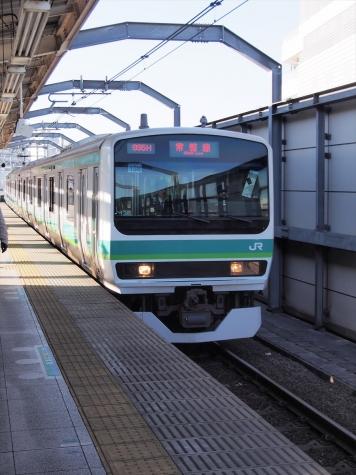 JR 常磐快速線・成田線 E231系 電車