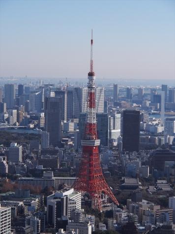 東京タワー【六本木ヒルズ スカイデッキ】