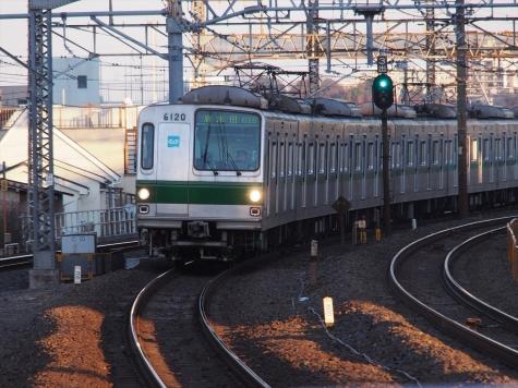 東京メトロ 千代田線 6000系 電車