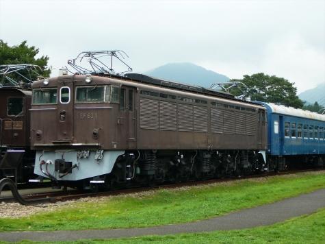 国鉄 EF63 電気機関車【碓氷鉄道文化むら】