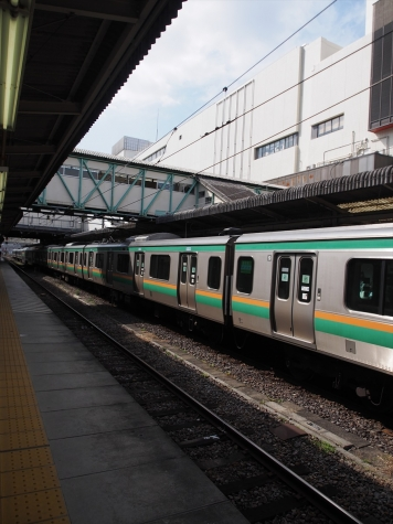 JR東日本 E231系 近郊型 U503編成 回送