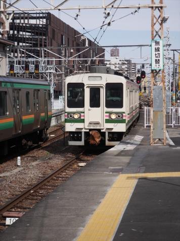 JR 上越線 107系100番台 R13編成