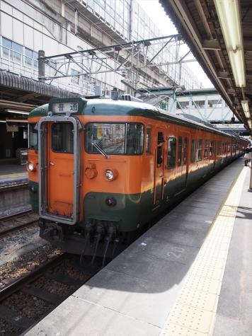 JR両毛線 115系 電車