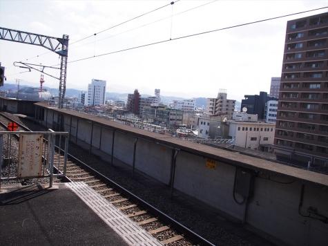 JR 高崎駅 新幹線ホーム
