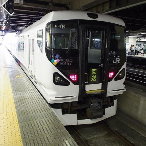 JR東日本 E257系0番台 電車