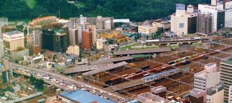 1982年頃の新宿貨物駅