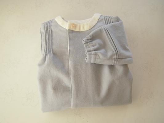 服のラッピング方法