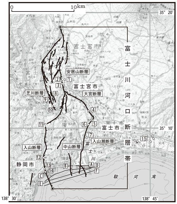 【駿河トラフ】東海地震と連動して同時に発生か…M8クラスの巨大地震を引き起こす「富士川河口断層帯」を重点調査へ