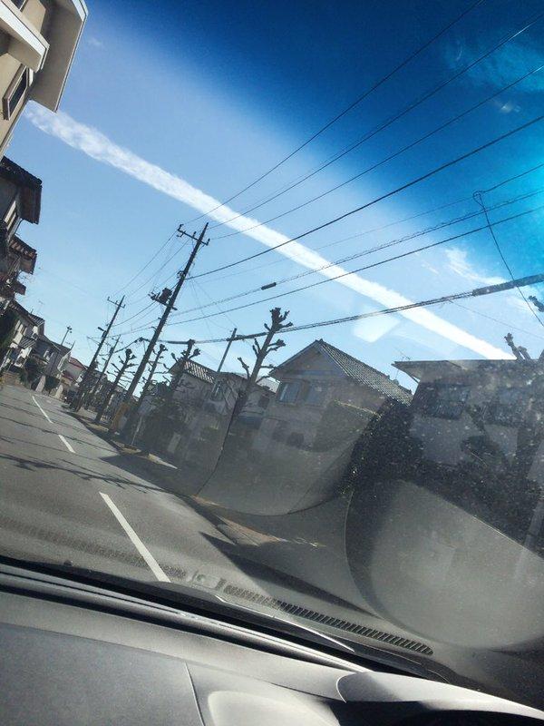 関東の広範囲で「地震雲」が目撃されたとの報告がネット上に相次ぐ
