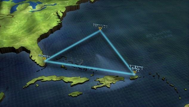 バミューダ・トライアングルの謎がついに解明か?海底にある超巨大クレーターから吹き出すメタンなどのガスが原因の可能性