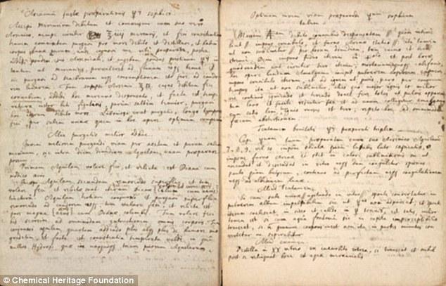 天才アイザック・ニュートンが研究していた錬金術「賢者の石」のレシピが公開される…「金属を金などの貴金属に、人間を不老不死に」