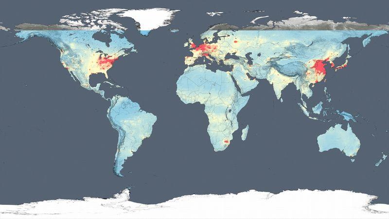 NASAが衛星データから「世界の大気汚染マップ」作成、公開