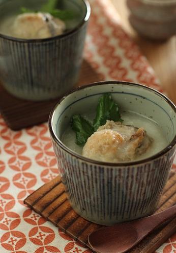 牡蠣茶わん蒸し1