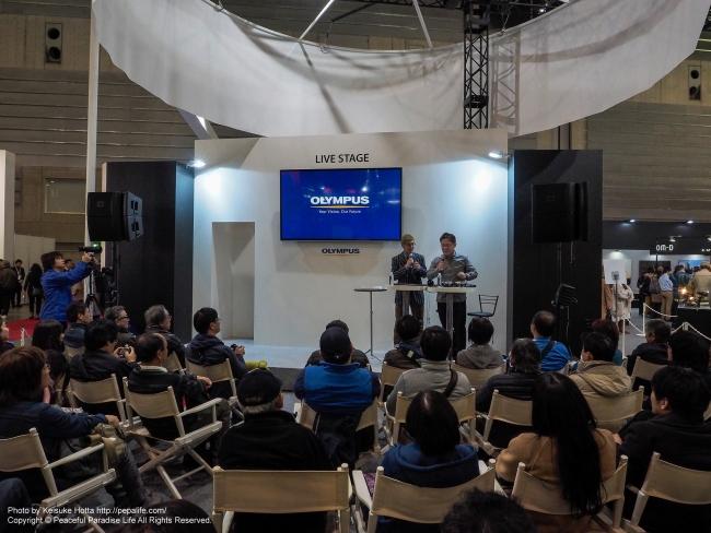 CP+2016 OLYMPUSブース ライブステージ