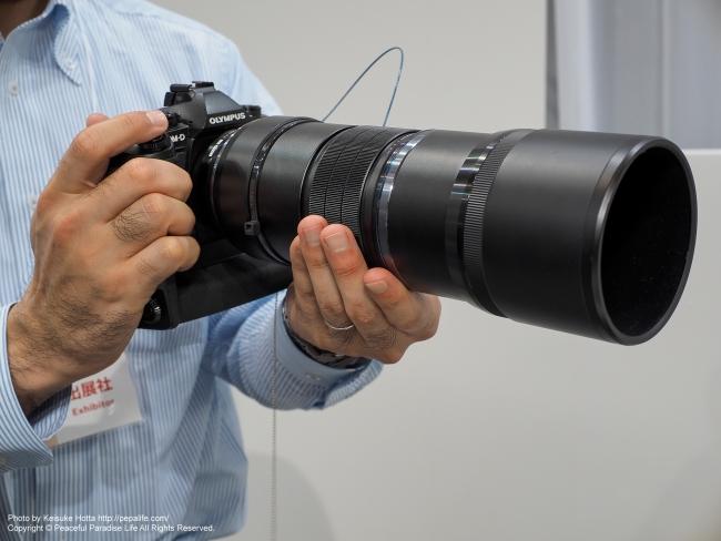 CP+2016 OLYMPUS M.ZUIKO DIGITAL ED 300mm F4.0 IS PRO