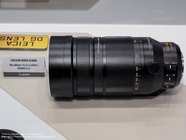CP+2016 Panasonic LEICA DG VARIO-ELMAR 100-400mm F4.0-6.3 ASPH. POWER O.I.S.