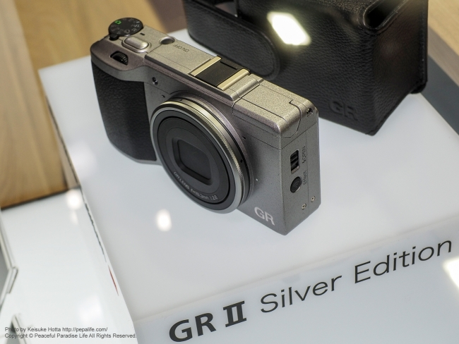 CP+2016 RICOHブース P GRⅡSilver Edition