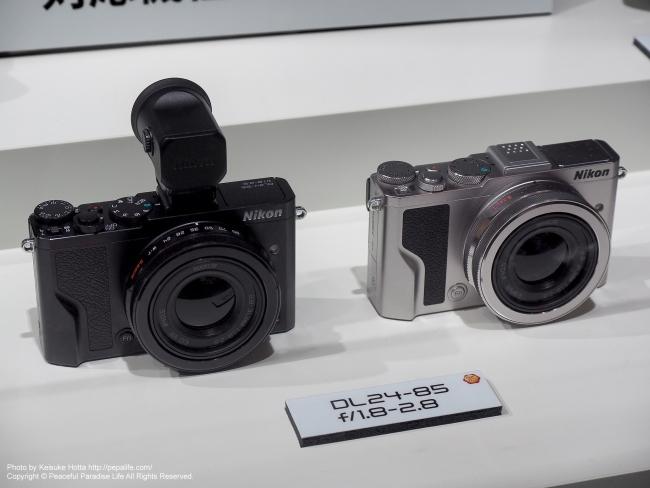 CP+2016 Nikonブース DLシリーズ DL24-85 f/1.8-2.8
