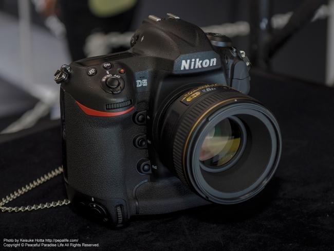 CP+2016 Nikonブース D5