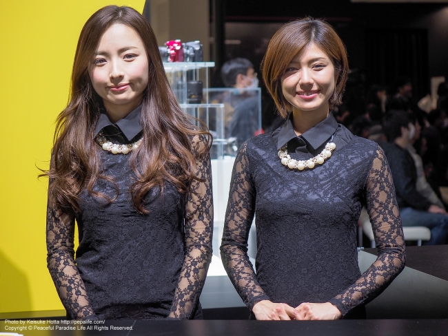 CP+2016 Nikonブースのイベントコンパニオンさん