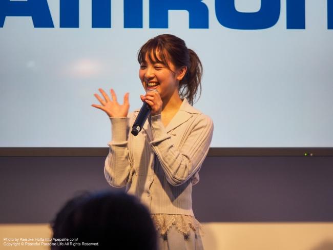 CP+2016 TAMRONブースの池田ショコラさん