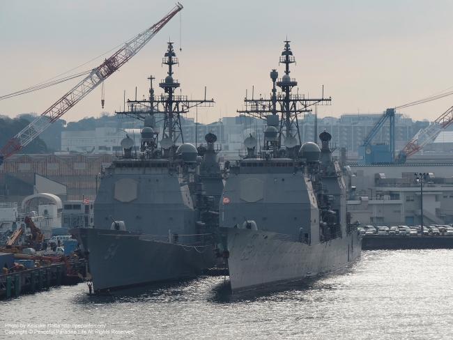 チャンセラーズビル (USS Chancellorsville, CG-62) 、アンティータム(USS Antietam, CG-54)