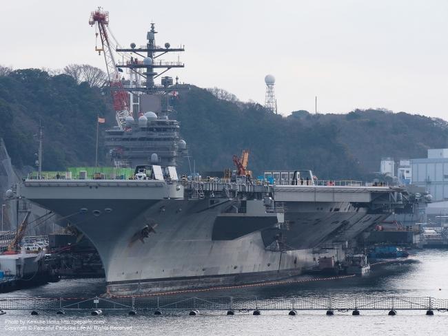 空母ロナルド・レーガン (USS Ronald Reagan, CVN-76)