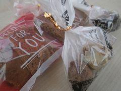 【写真】近所の仲良し姉弟の手作りクッキー&手作りチョコトリュフ