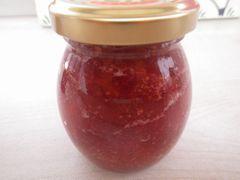 【写真】今週末から販売予定のポレポレ苺のいちごジャム
