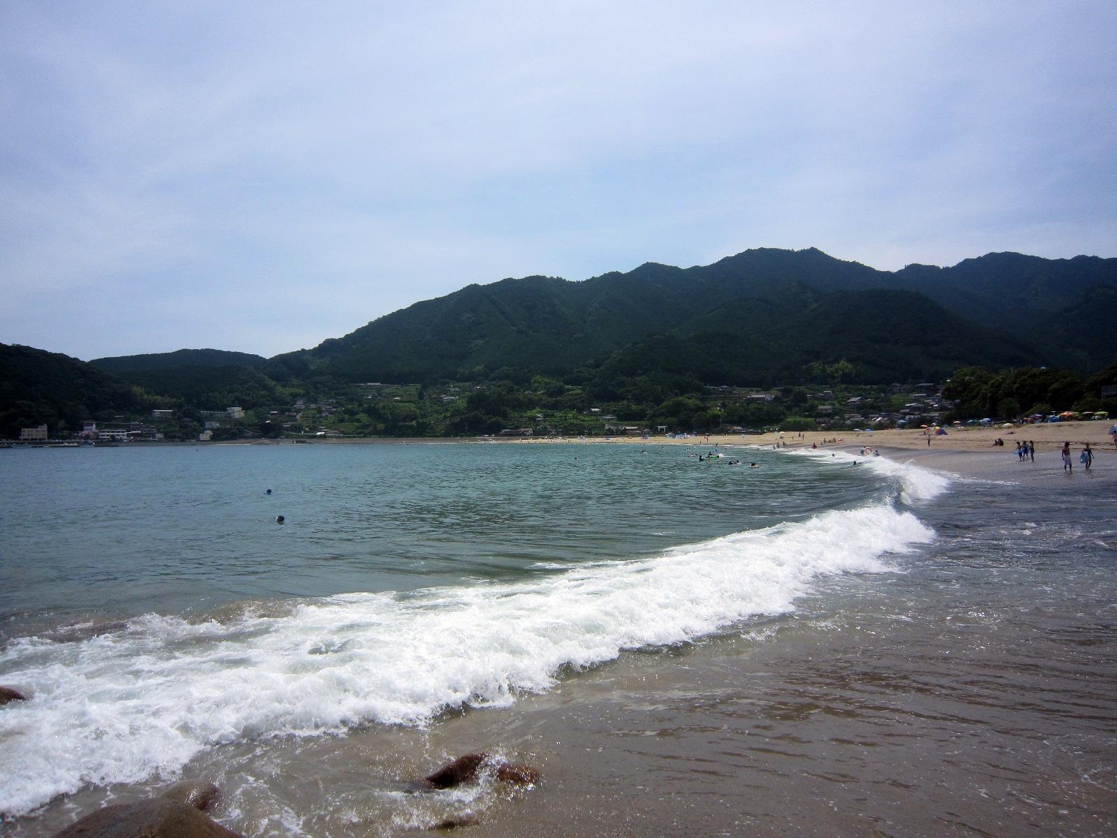 【第26話】三重県熊野市新鹿町 新鹿海水浴場