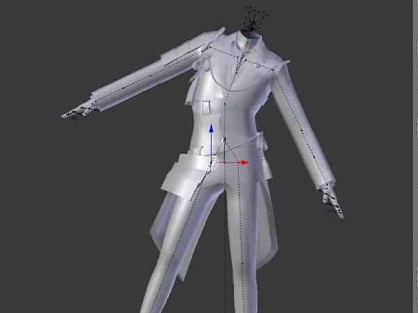 シムズ4 ボディメッシュ チュートリアル 服の作り方