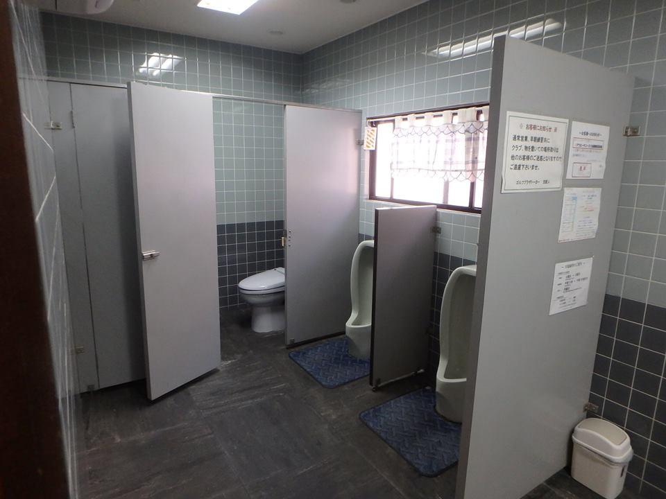男トイレ改装前