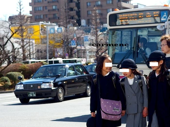 下校時とバス