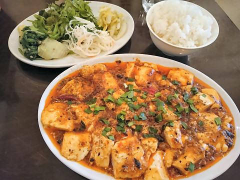 麻婆豆腐ランチセット@中国小菜 双琉