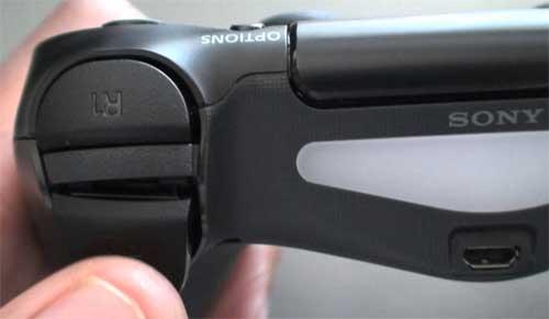 PS4のR2ボタン