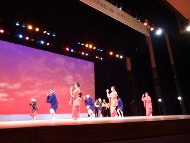 湯涌公民館の無形民俗文化財念仏踊り