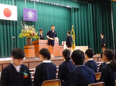 両校とも、素晴らしい旅立ちの言葉でした。
