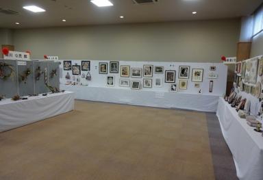 素晴らしい各教室の作品展示も