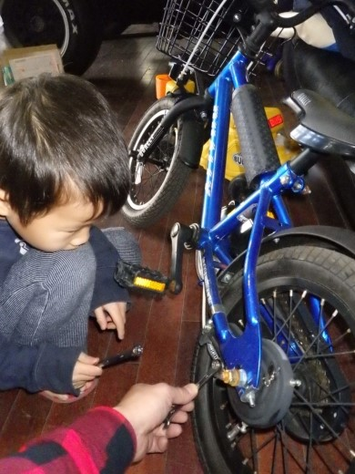 自転車整備 (3)