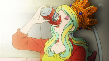 王冠と祝杯