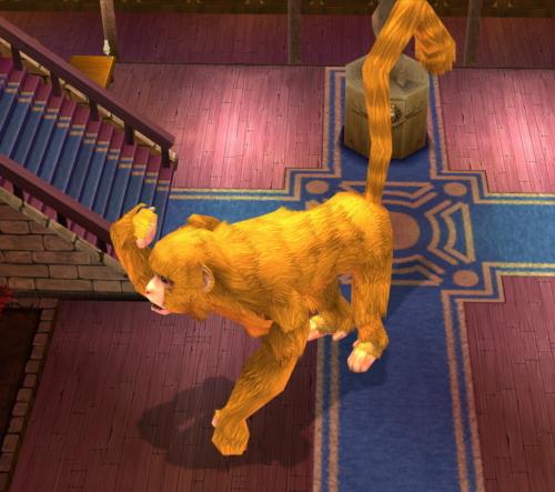 変身 黄金ザル 巨大化 バグ 動物 2