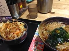 ゆで太郎 赤坂大正通り店:料理