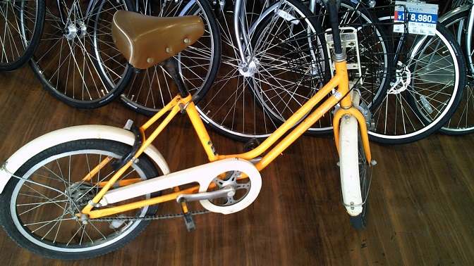 じいちゃん自転車