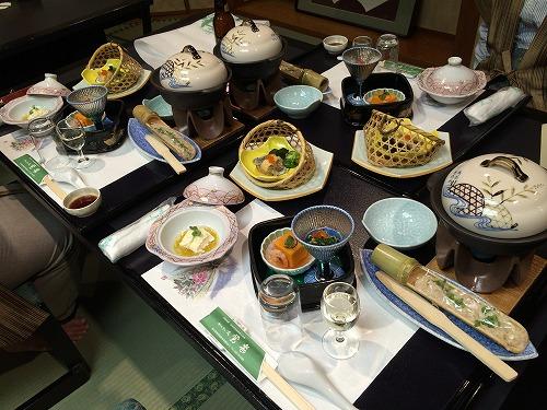 かんすい苑 覚楽(食事)